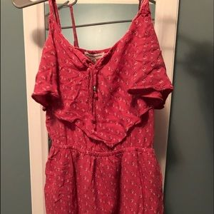 American Eagle Cute Pink Summer Dress